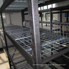 Hot selling welding type industrial rack/mould rack with wire panel