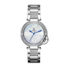 Stainless steel quartz watches for women