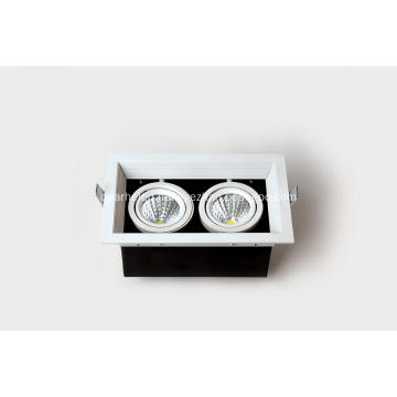16W Grille light series Beam angle 35°480-560LM Ra80 AC100-260V IP20