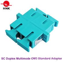 Sc Duplex Multimode Om3 Standard Kunststoff Faseroptik Adapter
