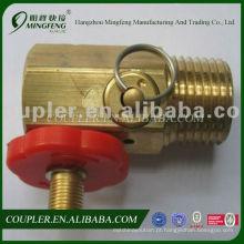 Made-in-china barato profissional mais leve válvula de recarga de gás