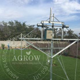 Vineyard Gable+ Retractable Rain Cover System