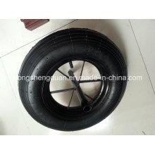 Roda pneumática usada para carrinho de mão, ferramentas