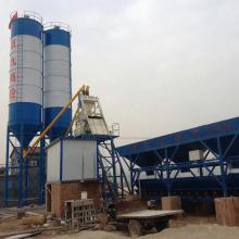 HZS35 mini stationary type concrete batching plant price