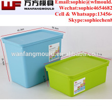 OEM Custom plastic injection seafood storage box mould for big seafood storage container mold
