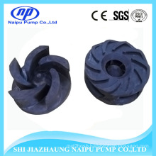 5 Vanes Rubber Slurry Pump Impellers