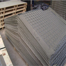 Flood control hesco barriers