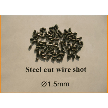 1.5mm Steel Cut Wire Shot for shot blasting