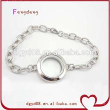 Bracelet chaîne en acier inoxydable en gros 2015