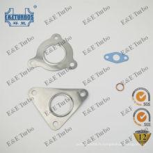 GT1749 Turbo Gasket kits pour 708639 pour Renault