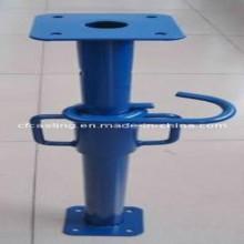 Puntales de la cimbra telescópica ajustable andamios de apoyo de acero