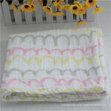 После мытья муслина ткань ребенка пеленание одеяло