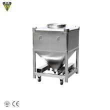 500l 1000l 1200l 2000l 5000l ibc tank barrel bin stainless steel with cooling jacket