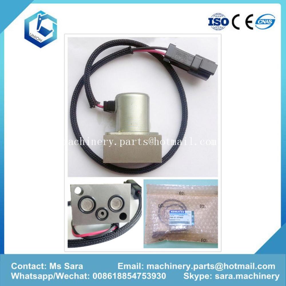 PC200-7 Excavator Hydraulic Pump Solenoid Valve 702-21-57400(id