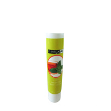 green tea body lotion plastic tube body lotion cream packaging
