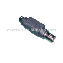 Adaptador Mini Din a BNC (ERC341)