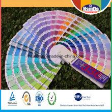 Revêtement de peinture en poudre thermodurcissable en usine