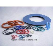 Fabricación de Qingdao para el anillo de goma del silicio