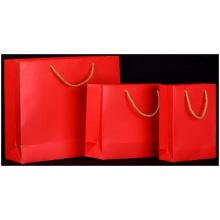 Customized Joyful Paper Gift Bag, Medium Size Garment Paper Bag