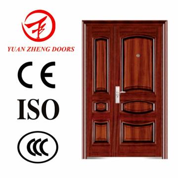 China Lieferant Stahl Doppel Türen
