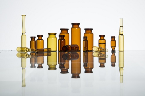 Glass bottles produced by zhengli