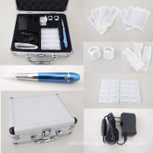 Pro Newest Tattoo & Permanent Eyebrow Lip Makeup Motor Pen Machine Tattoo Kit