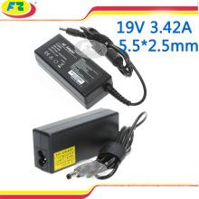 Aufladeeinheit für asus 19v 3.42a 65w 5.5 * 2.5mm Notizbuch-Energienaufladeeinheitsadapter