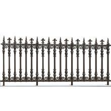 Arms frame aluminum fence