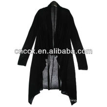 13STC5510 wool shalw collar acrylic cardigan sweater