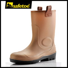 PVC working shoes for women, sex rubber gumboots, rain boots for women size 11 W-6002B