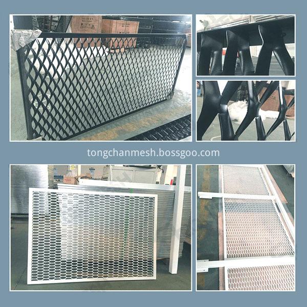 metal expanded decorative mesh