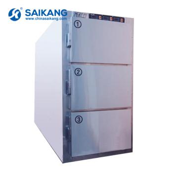СКБ-7A003 медицинского морга тело холодильник для пользы больницы