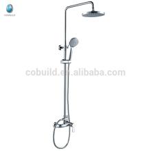 KDS-04 garantía de calidad de precio de China de latón macizo cabezal de ducha conjunto, cromo moderno terminó la instalación de la cabeza de ducha de baño