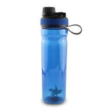 Botella plástica libre de la bebida amistosa de BPA 1000ML ECO para al aire libre con la manija