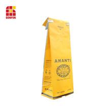 1 Pound Coffee Bag with Tin Tie and valve