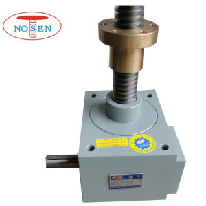 Professional Manufacturer for High Precision Ball Screw Jacks Motor Drive Nut Traveling Pair Lifting Screw Jack for Heavy Duty supply to Italy Factories