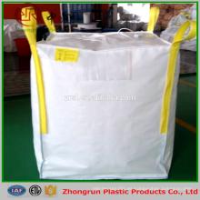 Bolsas plásticas de fondo plano, embalaje de alimentos, bolso grande jumbo 90cmx90cmx140cm