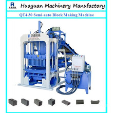 Lowest Cost Cement Manual Brick Making Machine Qt4-30 Semi-Auto Cement Brick Making Machine Price in India