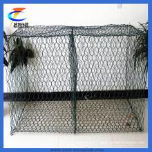 Hot-Dipped Galvanized Hexagonal Mesh Gabion Box Baskets