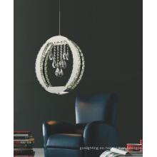 Nuevo diseño moderno de acero inoxidable LED de cristal lámpara (MP39003-13)