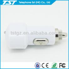 Adaptateur de chargeur de voiture USB portable personnalisé pour téléphone intelligent
