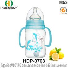 BPA libera la botella de alimentación del bebé de 240ml PP (HDP-0703)