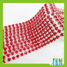 Transfer Color Rhinestone Cup Chain Glass Fancy Stone Cup ChainTrimming For Fashion Accessories