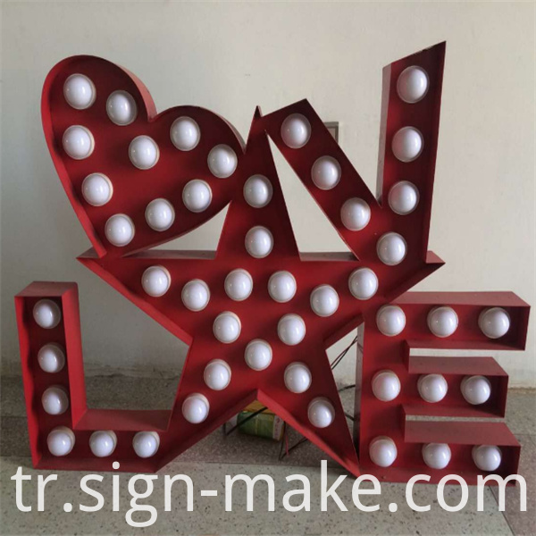 Marquee Letters Sign