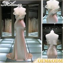 2017 Maçã de mulher de alta qualidade de vestido de noiva de bainha de honra