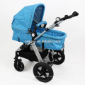 Colorful 5 Point Harness Alluminum Alloy Baby Jogger Stroller Big Wheels Carrier