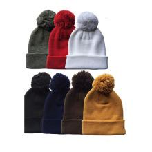 Chapéus feitos malha da forma barata acrílica de 100%