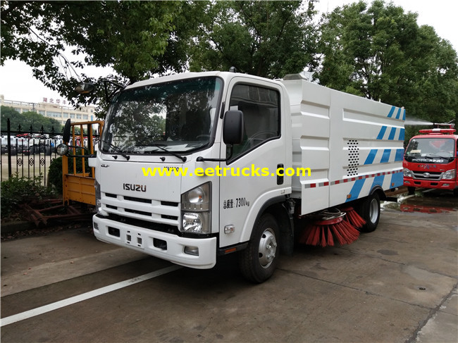 ISUZU Road Cleaning Trucks