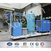 Compresor de aire montado sobre llanta de tornillo giratorio (KC37-DR-8)