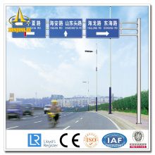 Galvanized Steel Road Sign Poles